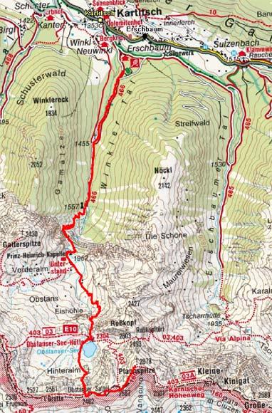 Pfannspitze (2678 m) durch das Winkler Tal