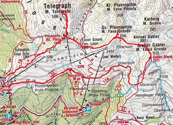3-Gipfeltour Plose (Telegraph, Pfannspitze, Gabler)