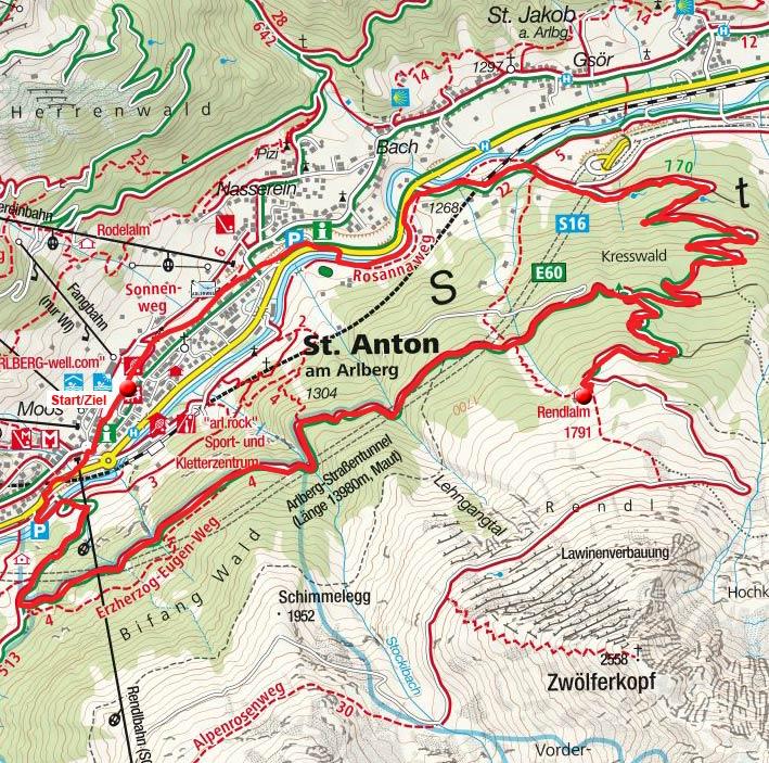 Rendlalm von St. Anton