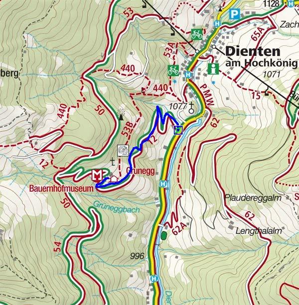 Jausenstation Grünegg Alm - Naturrodelbahn