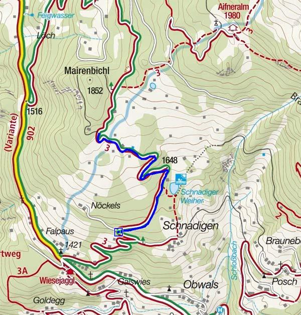 Schnadinger Weiher - Naturrodelbahn