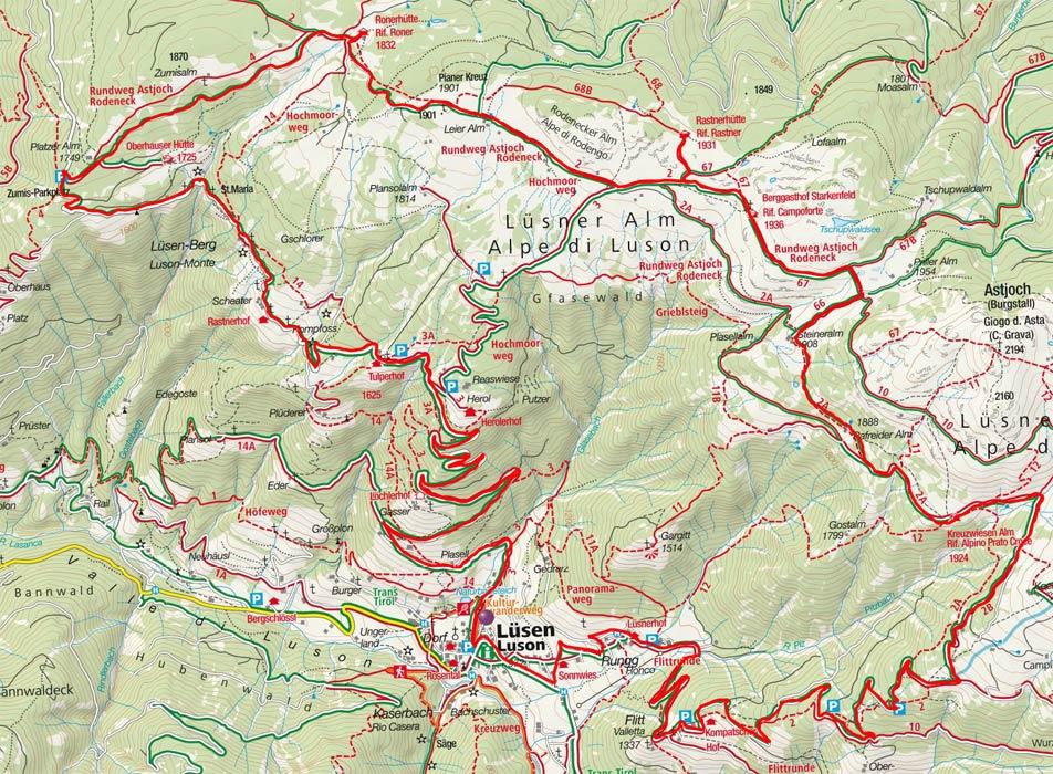 4-Hüttenrundfahrt auf der Rodenecker-Lüsneralm