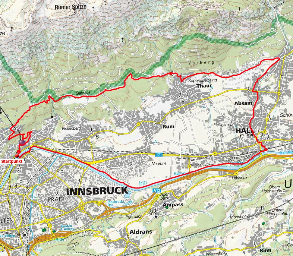 Adolf Pichler – Romedirunde von Innsbruck