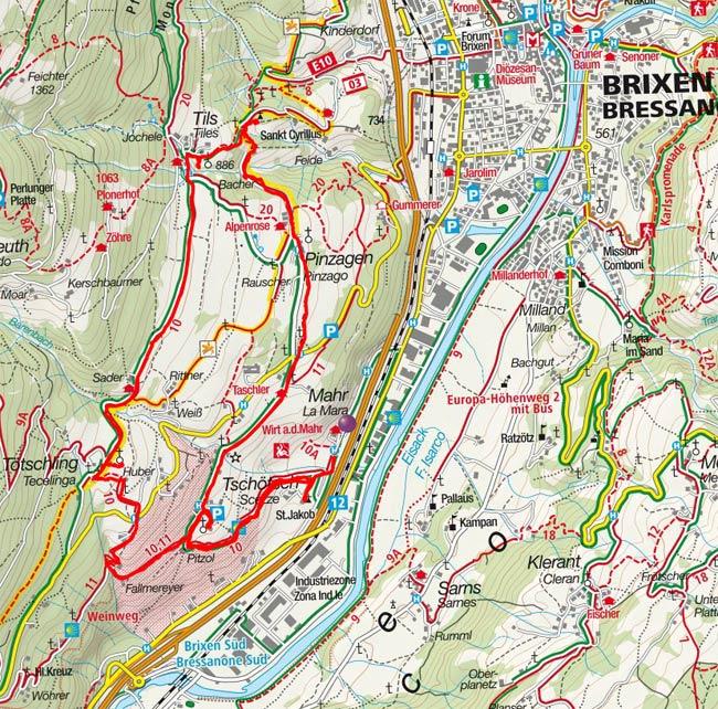 Sieben-Kirchen-Weg am Pfeffersberg