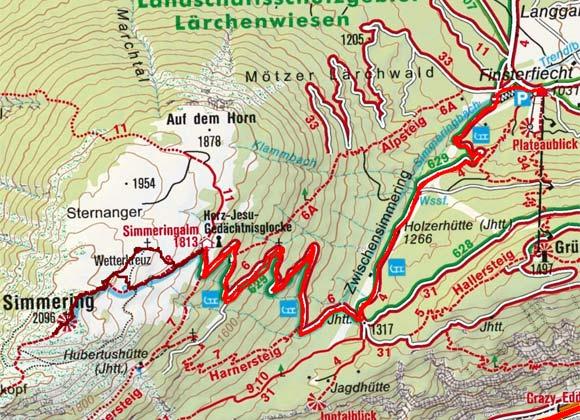 Grünberg Alm - Zwischensimmering - Simmering Alm