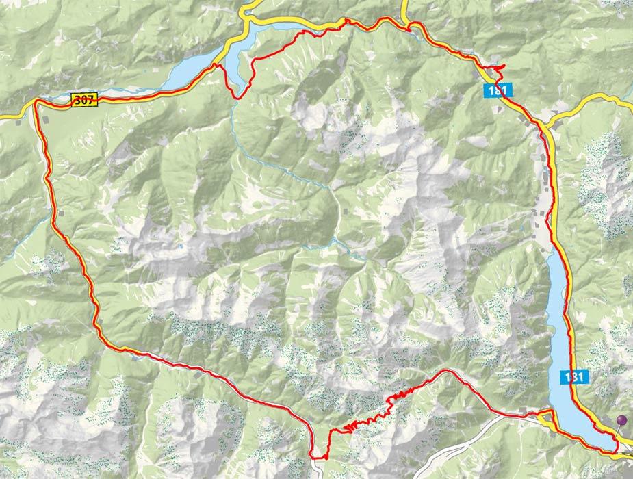 Sylvenstein-Risstal-Plumsjoch-Achensee-Runde von Maurach