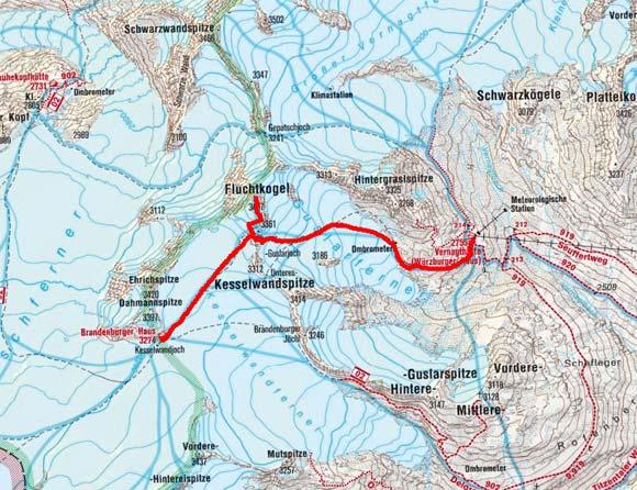 Venter Gletscher - Rundtour Tag 2
