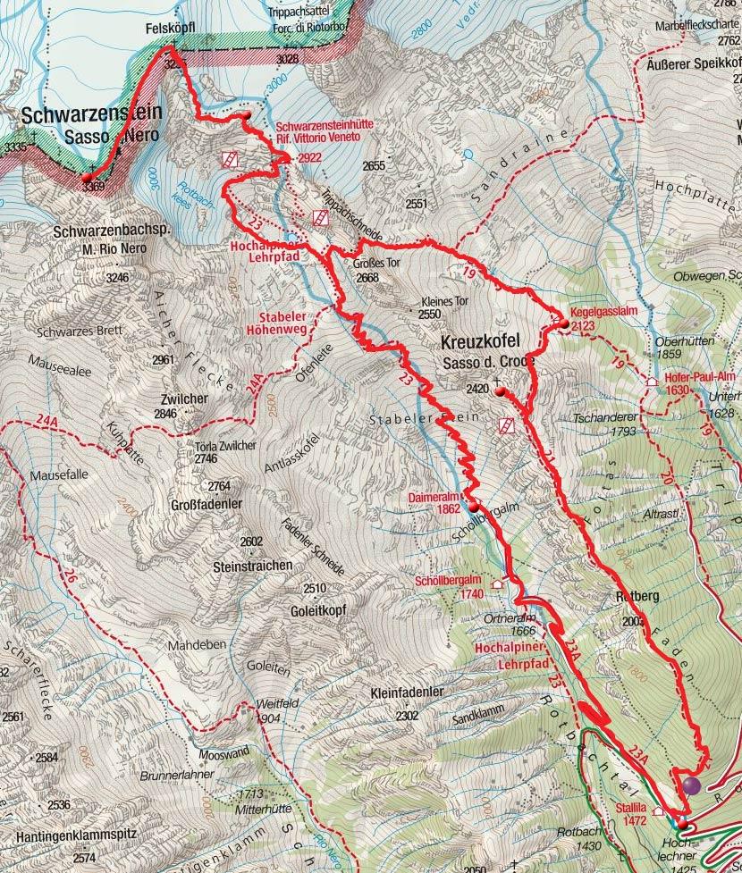 2-Gipfeltour auf der Ahrntaler Sunnsat