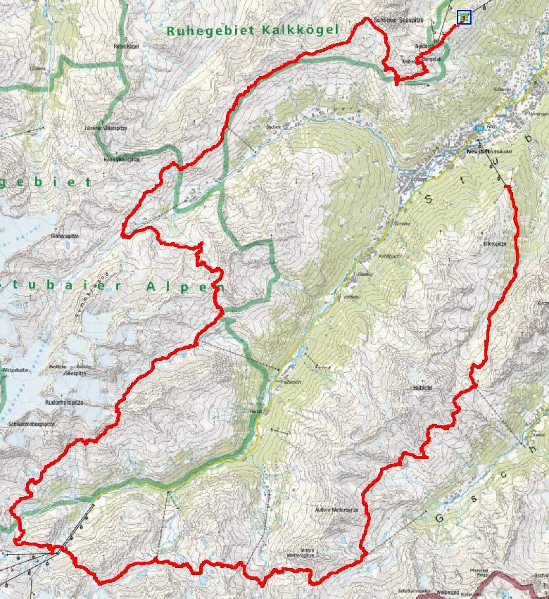 Stubaier Höhenweg (9 Tagesetappen)