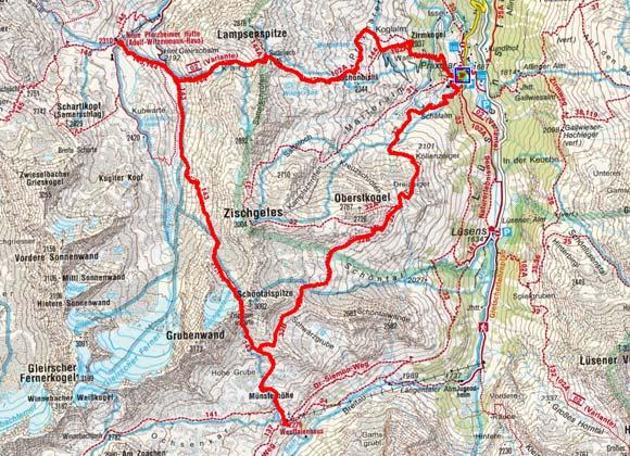 Sellrainer Hüttenrunde (3 Etappen)