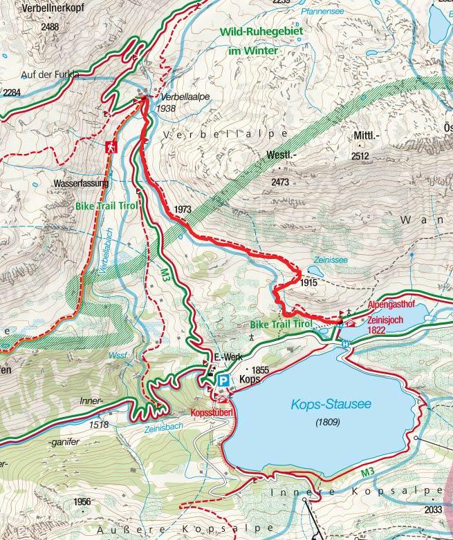 Verbella Alpe (1938m) vom Alpengasthof Zeinisjoch