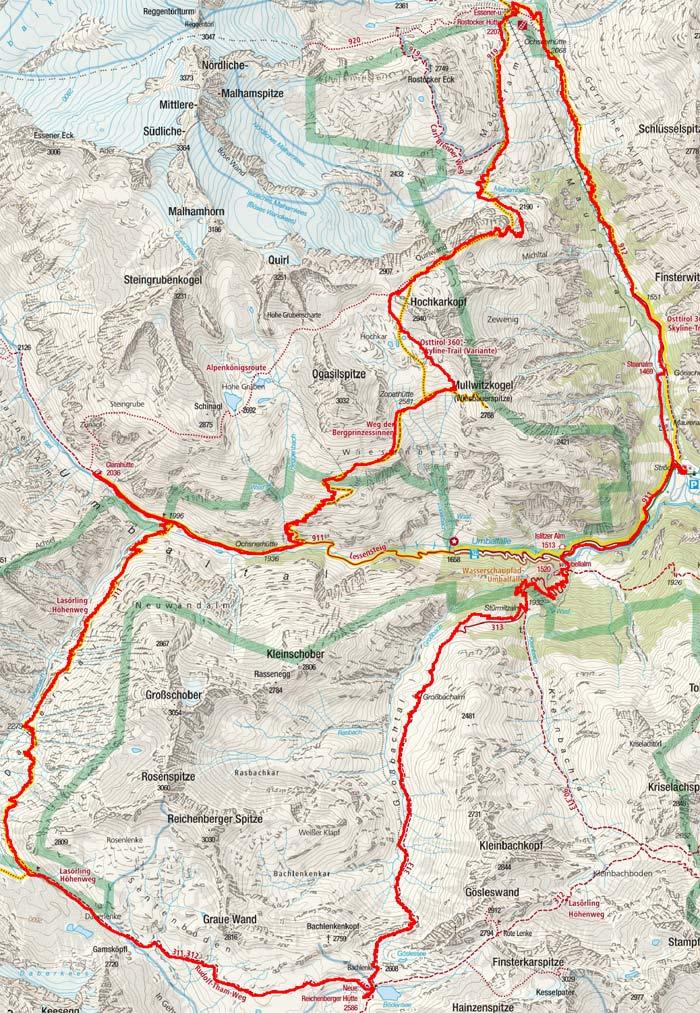 Virgentaler Talschluss-Rundtour (3 Tagesetappen)