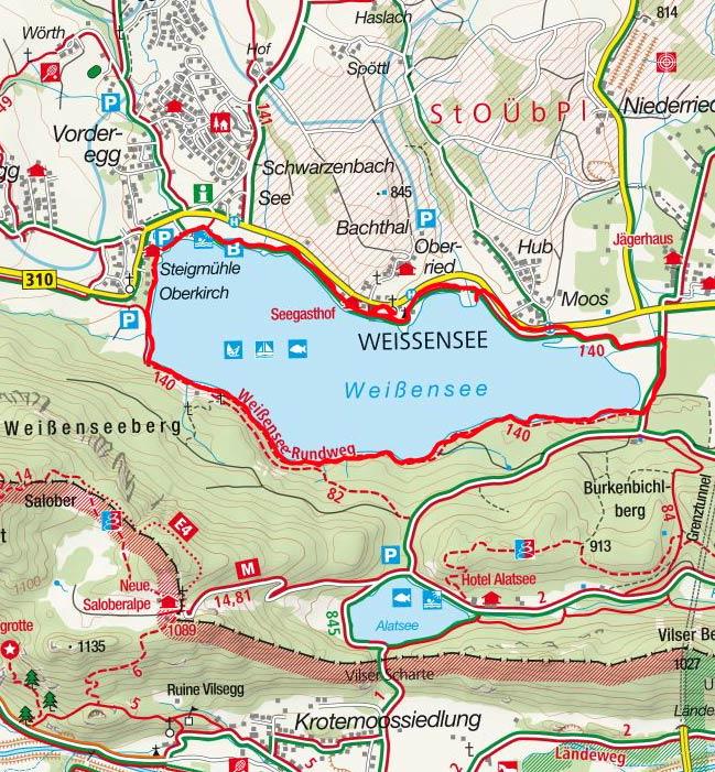 Weissensee-Rundwanderung bei Füssen
