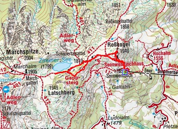 Zireiner See Rundtour (Sonnwendjoch)