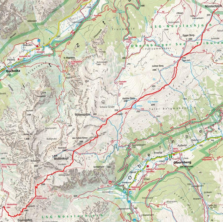 Gschnitztaler Rundtour: Steinach am Brenner - Gschnitzer Tribulaunhütte