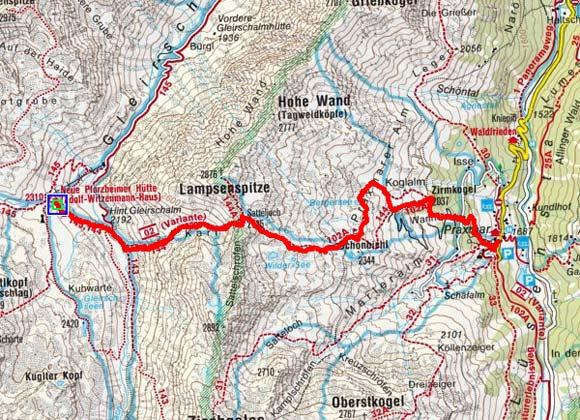 Sellrainer Hüttenrunde (3 Etappen) - Tag 3