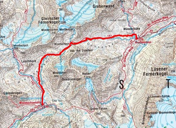 Sellrainer Hufeisentour (4 Etappen) - Tag 2