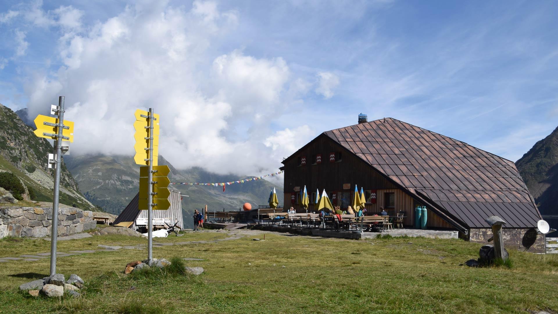 Tag 5: Nürnberger Hütte - Sulzenauhütte