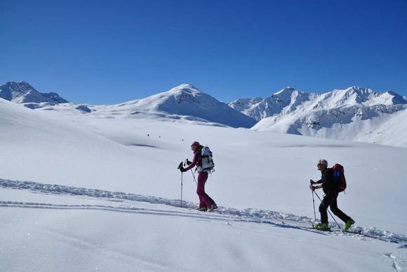 Skitouren im Engadin
