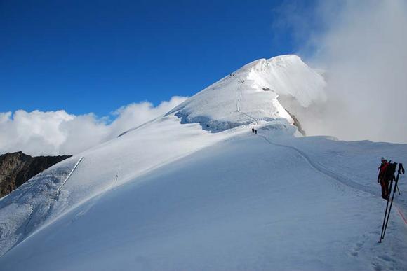 Bergtouren in den Walliser Alpen