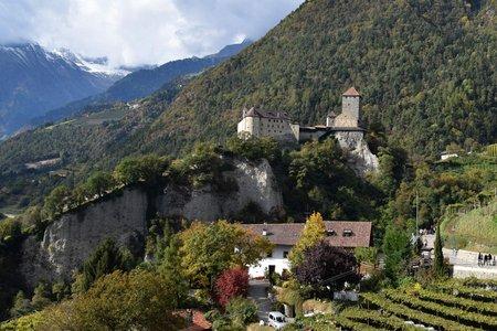 Schloss Tirol vom Kurhaus Meran