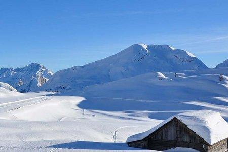 Sas dla Para (2462 m) von der Senneshütte