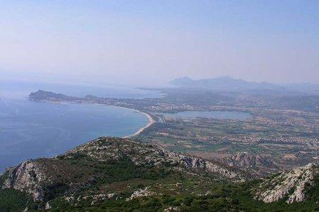 Monte Oro (669 m) von Santa Navaresse