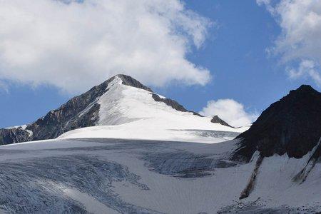 Similaun (3606 m) von der Martin Busch Hütte