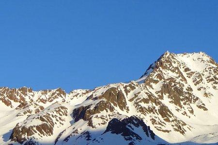Schwemser Spitze (3459 m) von Kurzras