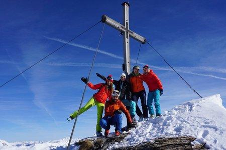 Schafseitenspitze (2604m) von Navis
