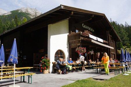 Gaistalalm vom Parkplatz Salzbach