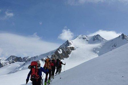 Wildspitze (3774 m) von der Vernagthütte