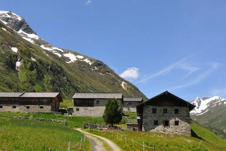 Erlsbach - Jagdhausalmen - Klammjoch