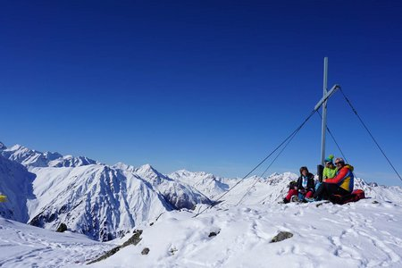 Fotscher Windegg (2577 m) aus dem Lüsenstal