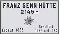 Logo Franz Senn Hütte, 2147 m - Stubaital