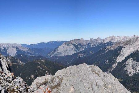 Vordere Brandjochspitze (2558 m) von der Seegrube