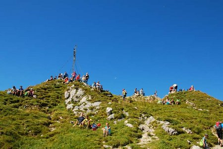Rote Flüh (2108 m) von Nesselwängle