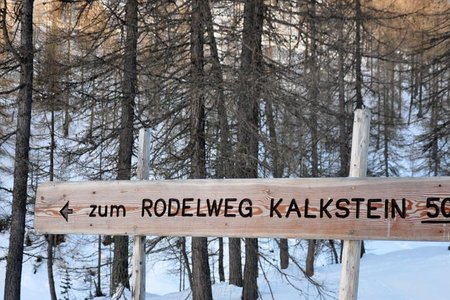 Rodelbahn Kalkstein - Naturrodelbahn