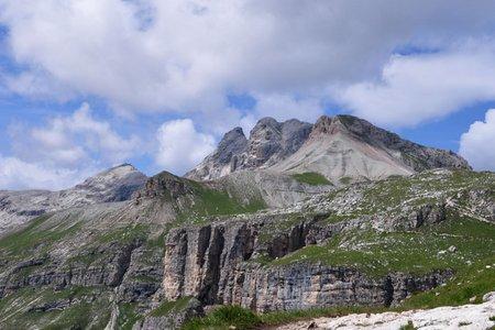 Östliche Puezspitze (2846 m) von Kolfuschg
