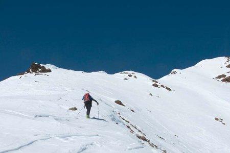 Saykogel (3355m) von der Martin Busch Hütte