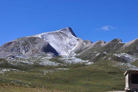 Monte Sella di Sennes (2787 m) von der Senneshütte