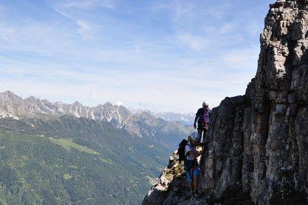 Elfer Nordwand - Klettersteig (Gleirscher Klettersteig)