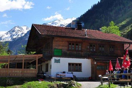 Voldertalhütte, 1376 m - Voldertal