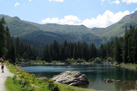 Obernberger See vom Gasthof Waldesruh