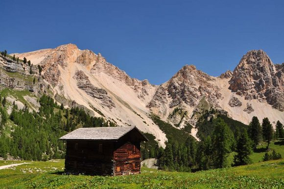 Hüttenwander-Regionen in Südtirol