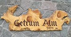 Logo Getrumalm, 2094 m - Durnholz