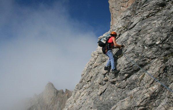 Klettern in den Lienzer Dolomiten