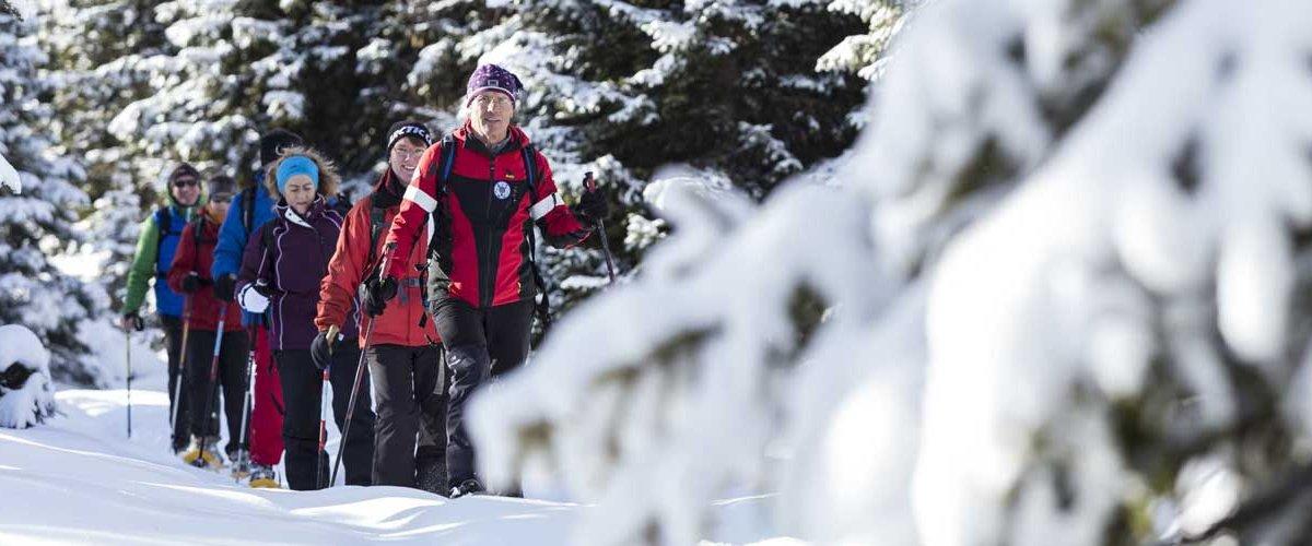 Schneeschuhwandern im Passeiertal beim Genießer- & Wanderhotel Jägerhof