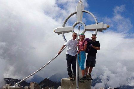 Glödis Spitze (3206 m) von Seichenbrunn