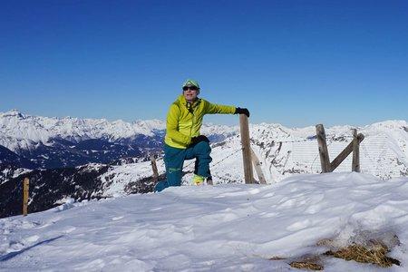 Riepenspitze (2460 m) von Außerschmirn